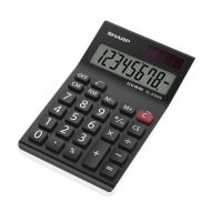 Sharp  EL310ANWH Semi Desk Calculator (Pack 1)