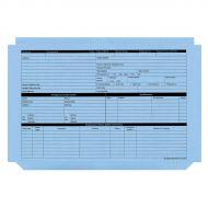 Personnel Wallet Blue Pk50 PWB01 (Pack 1)