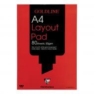 Goldline A4 Layout Pad GPL1A4Z (Pack 5)