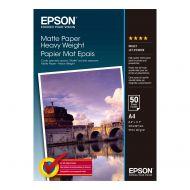 )Epson H/W Matte Paper A4 C13S041256 (Pack 1)