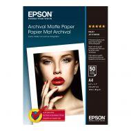 )Epson Arch/Matte P/A4 PK50 C13S041342 (Pack 1)