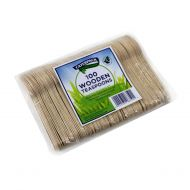 Natural birchwood Tea Spoons Pk100 10570 (Pack 1)
