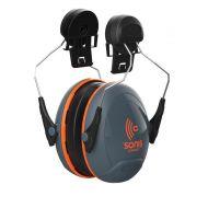 Sonis Compact Helmet Mntd Ear Defenders (Pack 1)
