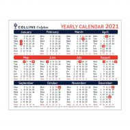 Collins Yearly Calendar 2021 CDS1 (Pack 1)