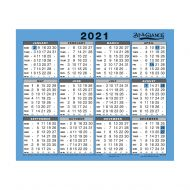 At A Glance 2021 Wall Calendar 930 (Pack 1)
