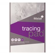 Silvine Prof Tracing Pad A4 50 lvs 90gsm (Pack 1)