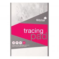 Silvine Evrydy Tracing Pad A4 50 lvs 63g (Pack 1)