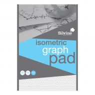 Silvine A4 Isometric Graph Pad 90g (Pack 1)