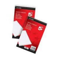 Shorthand Pad Wirebound 60gsm Ruled 160pp Red [Pack 10]