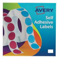 Avery Labels on Roll 12x18mmWht 24-415 (Pack 1)