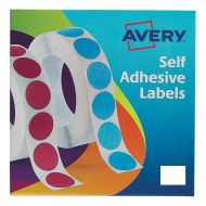 Avery Labels on Roll 25x19mmWht 24-421 (Pack 1)