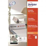Avery FSC Prntble Tent Card 4TV L4794-10 (Pack 1)