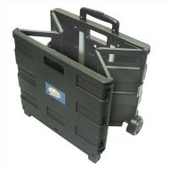 Foldable Crate Trolley Black (Pack 1)
