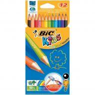 Bic Kids Evo Colour Pencils Wallet Pk12 (Pack 1)