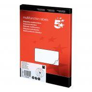 5 Star Office MultiP Lbls 105x35 1600Lbs (Pack 1)