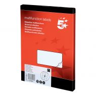 5 Star Office MultiP Lbls 105x71 800Lbls (Pack 1)