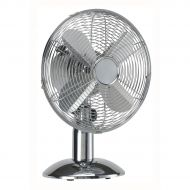 5 Star Fcl Oscillating Fan 12inch Chrome (Pack 1)