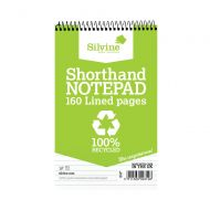Silvine Everyday Recycled Shorthand Pad 127x203mm (Pack of 12)