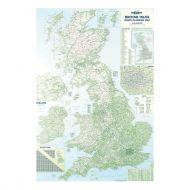 MapMrktng British Isles Motoring Map BIM (Pack 1)