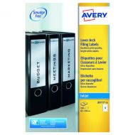 Avery Inkjet Lever Arch File Labels P100