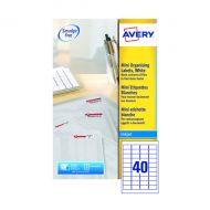 Avery Inkjet Mini Labels Wht Pk1000