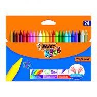 Bic Plastidecor Crayons Pk24 829772