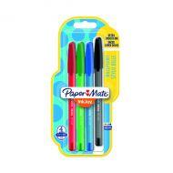 Papermate Inkjy 100 Pens Med Ast P4