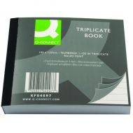 Q-Connect Triplicate Book 102x127mm