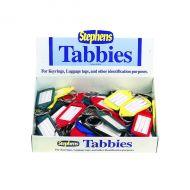 Stephens Assorted Tabbies Keyrings Pk50