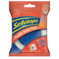 Sellotape Double Sided 12mm Tape Pk12