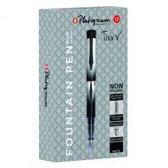 Snopake Platignum Fountain Pen Black P12