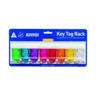 Kevron Standard Key Tags Assorted Pk8