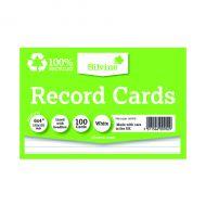 Silvine Clim Frnd Recrd Cards 6x4in
