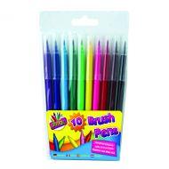 Artbox 10 Quality Brush Fibre Pens Pk12